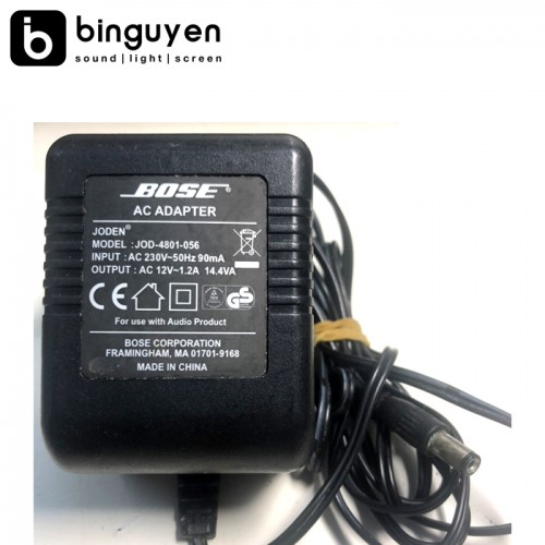 Bose adapter 12v AC - 1.2A used 90%