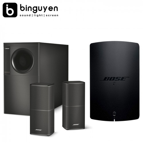 Combo nghe nhạc Bose Acoustimass® 5 Series V stereo speaker system + ampli Bose SoundTouch SA-5 amplifier